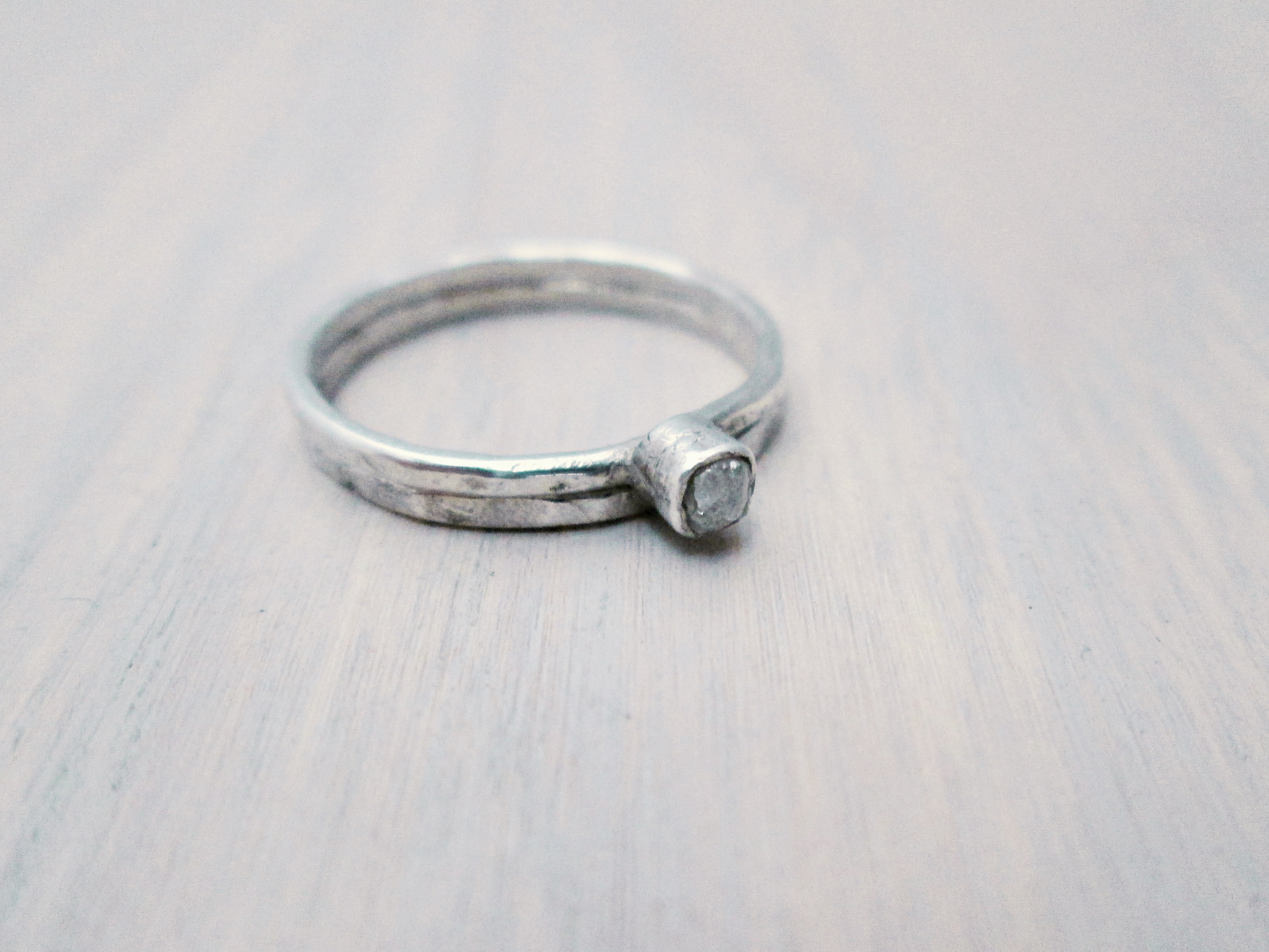 diamond engagement ring by wedding on nature raw hinapiana inspired etsy rings band pin