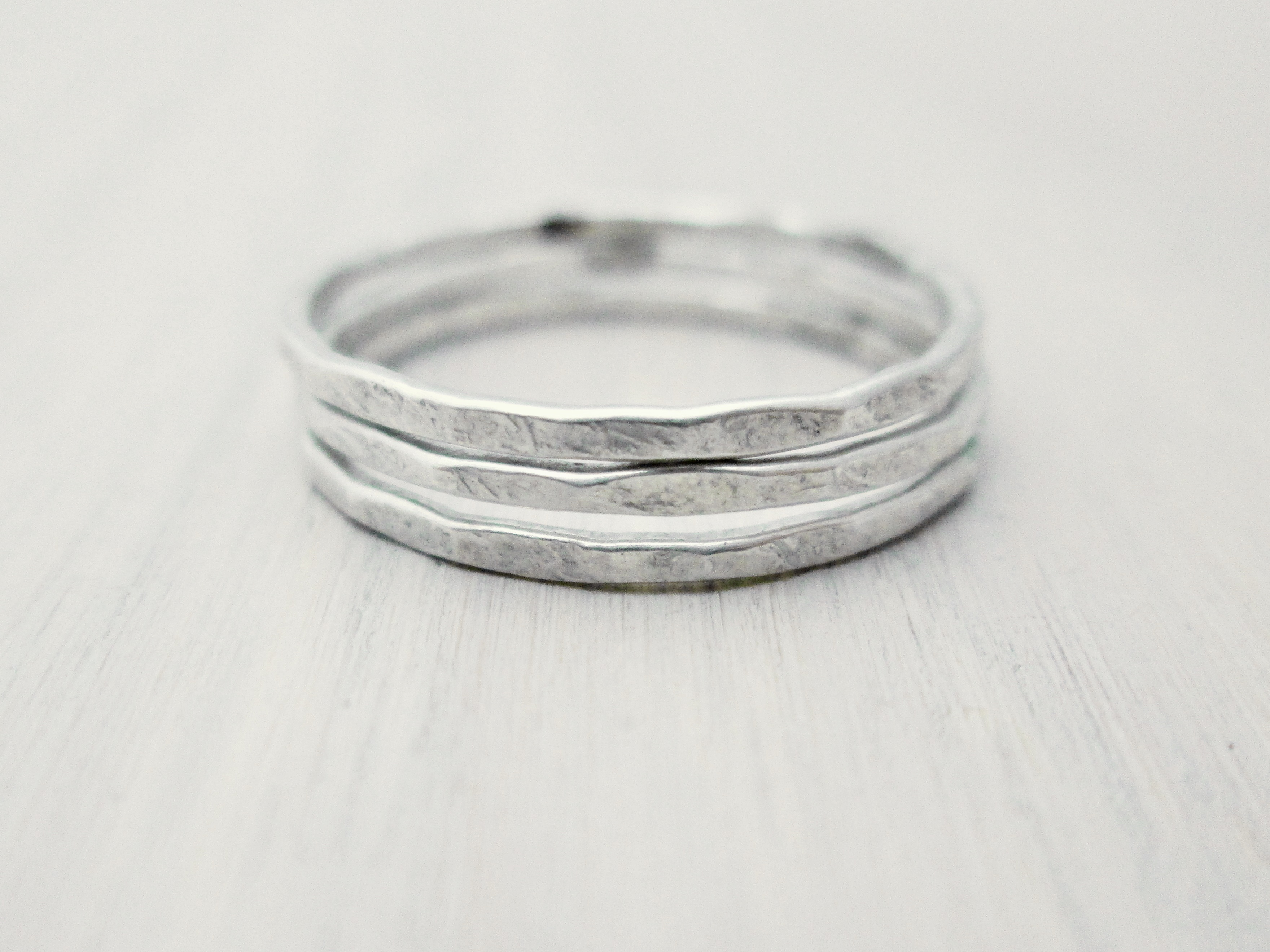 9a7d0a1c0d73f Ultra Thin Stacking Rings {Sterling Silver}